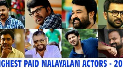 Highest Paid Actors of Malayalam Cinema in 2016