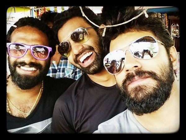 Nivin Pauly new look with Wilson Joseph