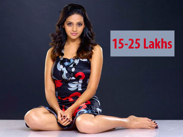 Bhavana gets salary 15-25 lakh for doing a malayalam film