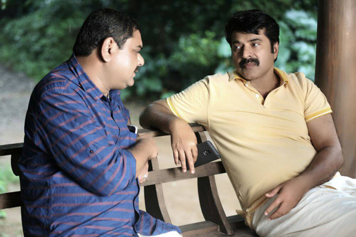 Mammootty at location