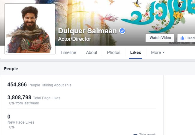 Dulquer Salmaan : The most popular Malayalam actor