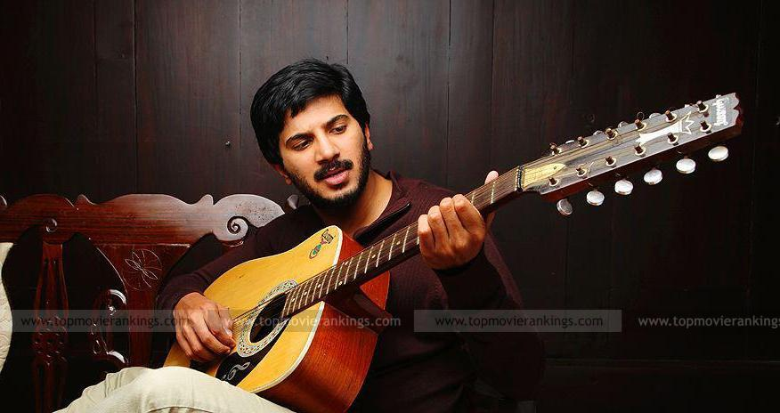 Dulquer with a Guitar