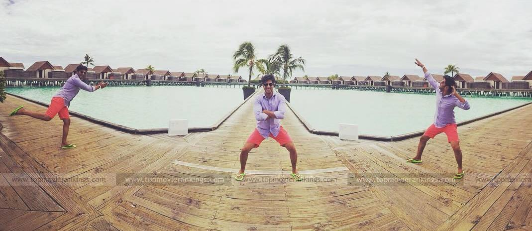 Funny Postures of Dulquer