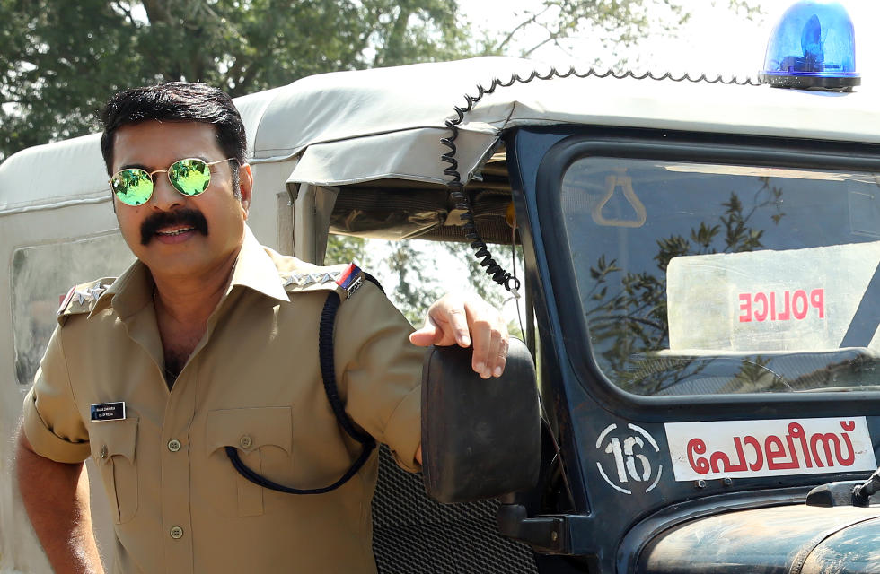 Mammootty new police look