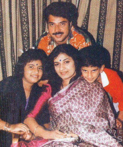 Mammootty an orthodox man : with his wife and children