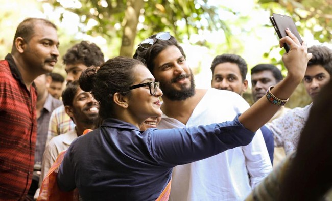 Parvathy and Dulquer