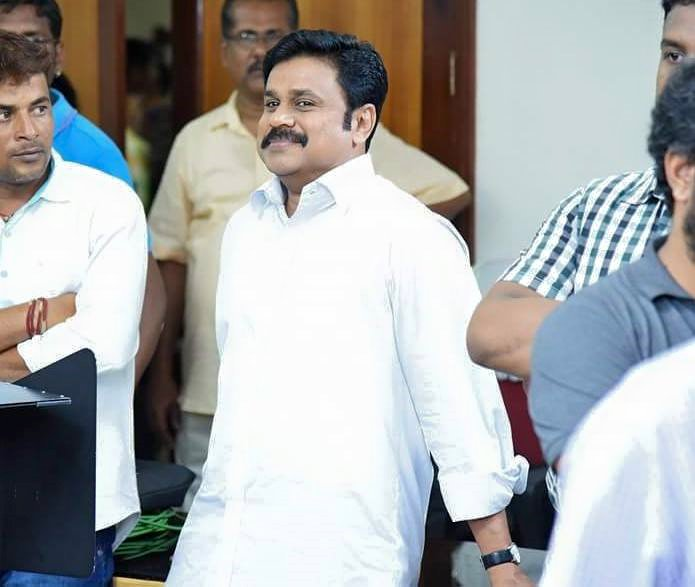 Dileep at location