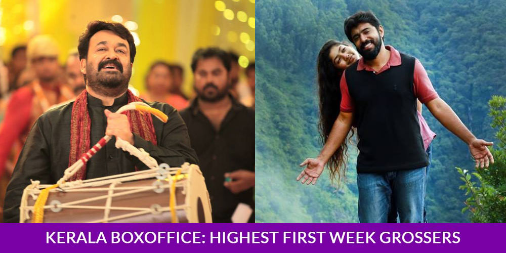 Highest first week collections in Kerala box office