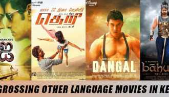 Top 10 Highest grossing other language movies in Kerala