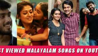 Top 15 most viewed Malayalam songs on YouTube