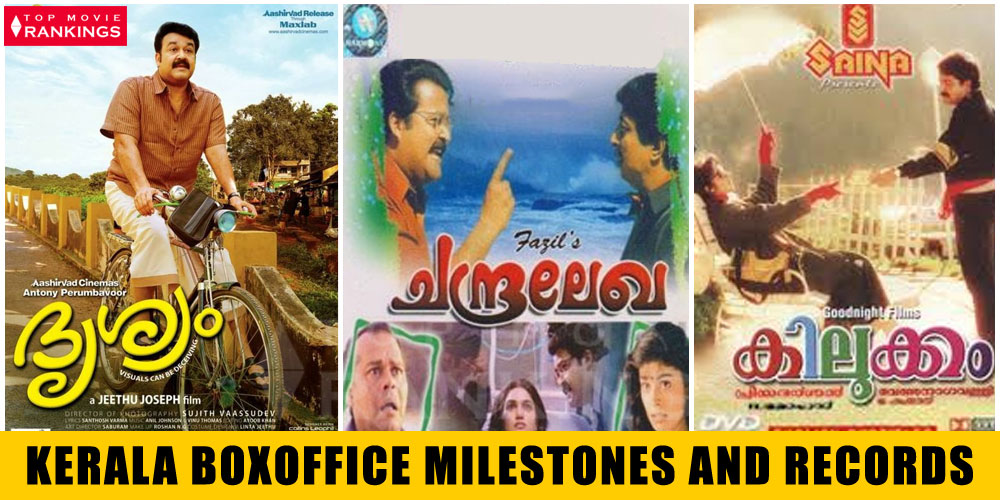 Milestones - Kerala Box Office Records - First , Fastest