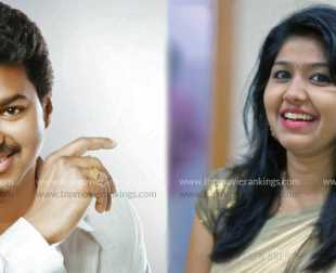 Jimikki Kammal fame Sheril to share screen space with Vijay?