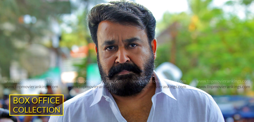 Lucifer Worldwide Box Office Collection - Mohanlal