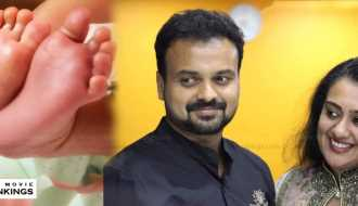 Kunchacko Boban and Priya Ann blessed with a baby boy